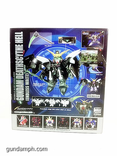 SD Gundam Online Deathscythe Hell Custom Toy Figure Unboxing Review (7)