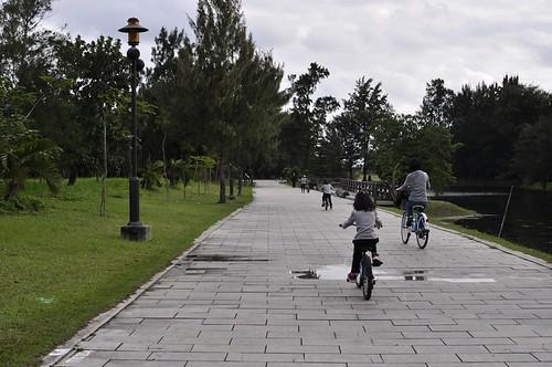【鐵馬行】台東森林公園:琵琶湖美呆了(7.5ys)