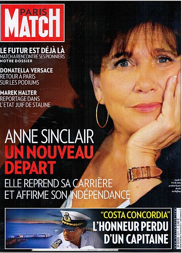 12a28 Anne Sinclair Paris Match