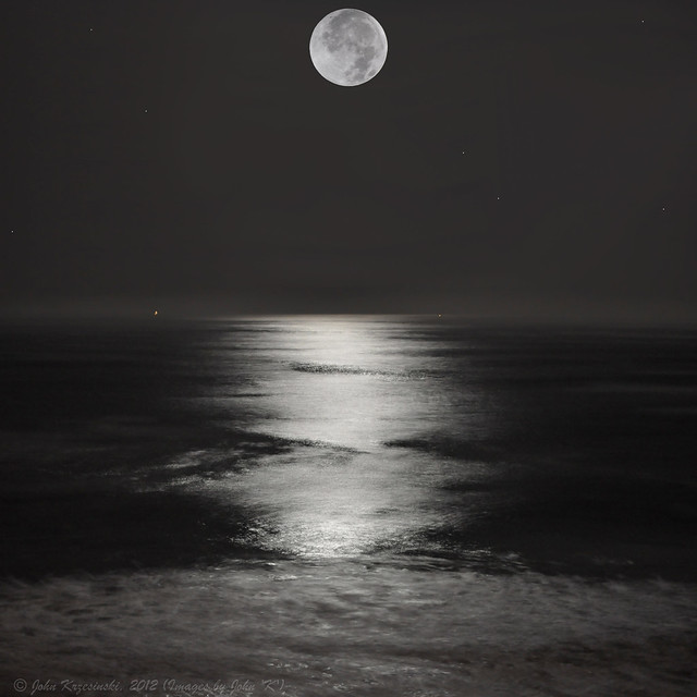 Full Moon over Half Moon Bay