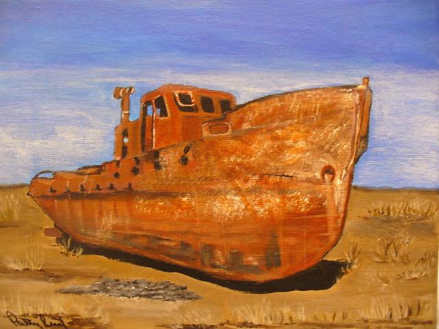 Russian Desert Ship