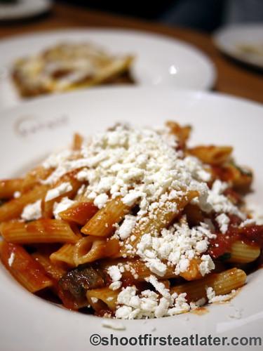 Eataly NYC-La Pizza & La Pasta - Penne Rigate alla Norma $15