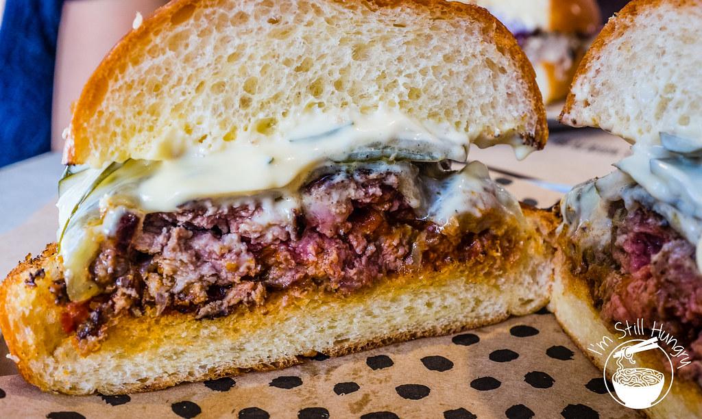 Chur burger grilled beef burger
