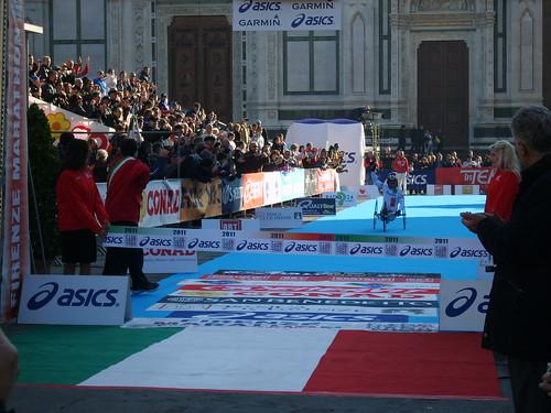 """Foto """"Firenze Marathon 2011- Alex Zanardi"""" by unpodimondo - flickr"""