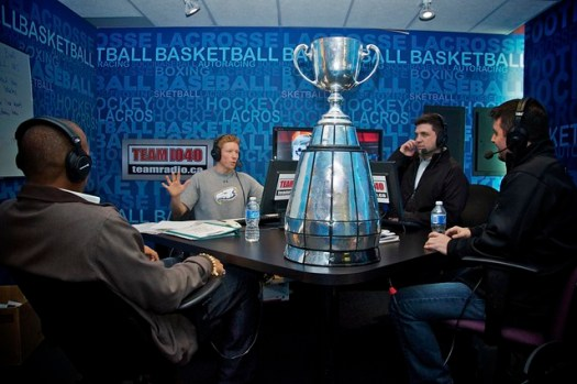 Grey Cup visits TEAM 1040