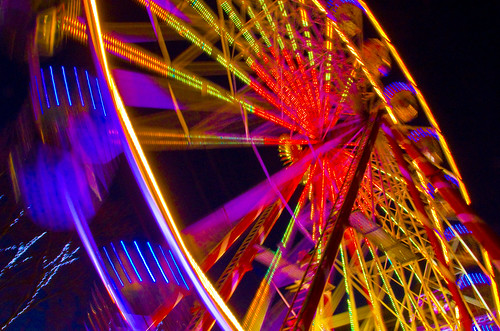 Big Wheel blurs