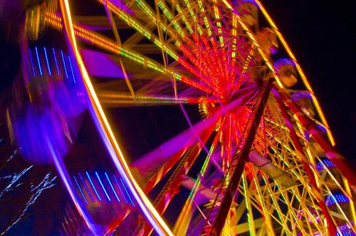 Big Wheel blurs