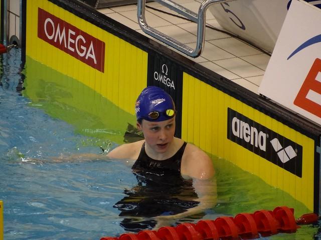 Hannah Miley at the Szczecin 2011 European Championships