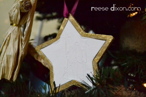 Papercast Ornament
