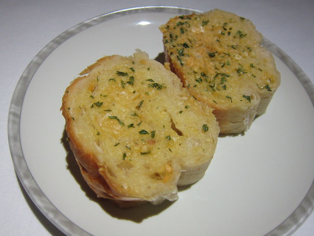 Garlic bread, Singapore Airlines