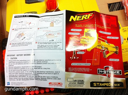 NERF Sale 50% Off Stampede Raider Recon Unboxing Review (18)