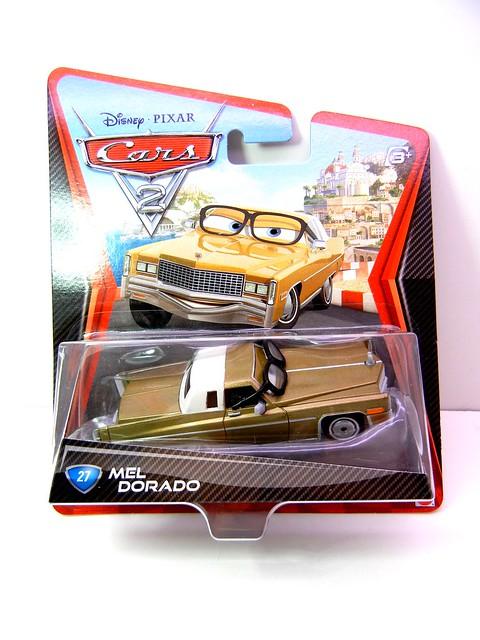 DISNEY CARS 2 MEL DORADO (1)