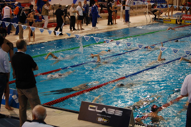 Training before Rijeka 2008