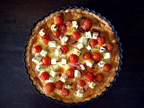 Very Full Vegetable Tart