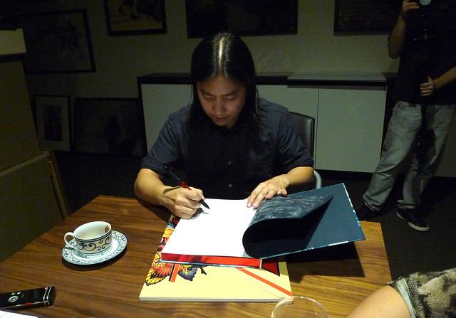 James Jean signs Kindling