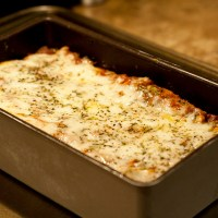 Chicken, Artichoke, and Kale Lasagna