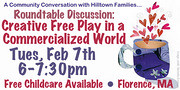 Roundtable Discussion: Creative Free Play in a Commercialized World
