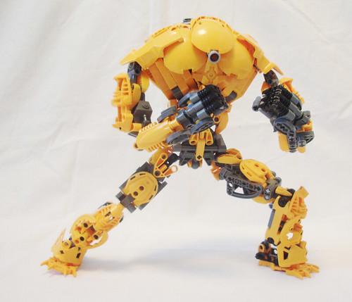 Who said Bionicle wasn't cool?