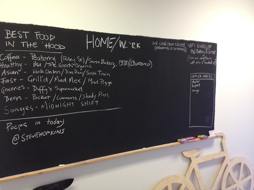 Blackboard at Home/Work