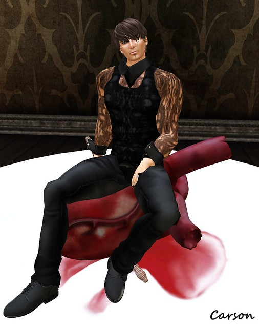 RoTtEn DeFiAnCe - Lace Shirt, Tank and Leather Pants My Rotting Valentine Hunt