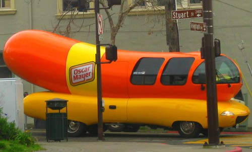 Weinermobile by dyannaanfang