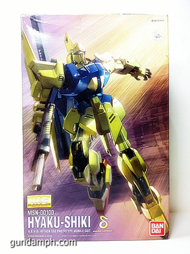 MG 1-100 Hyaku Shiki HD Color Limited Version Edition Gundam PH (21)