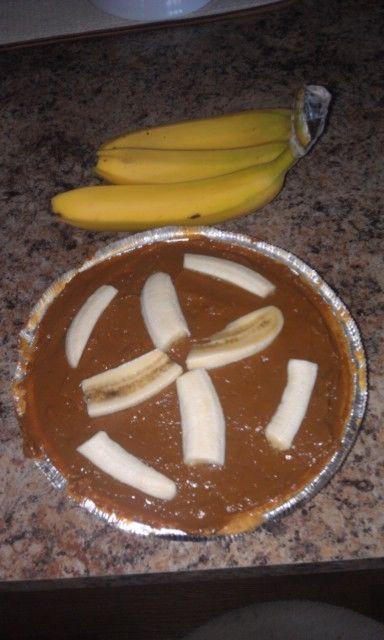 Banoffee pie (pre cream).