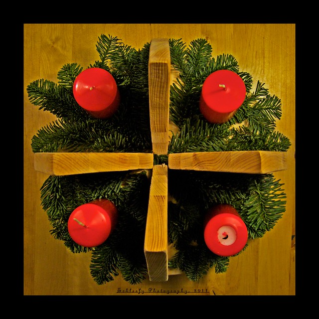 #333/365 Advent Wreath