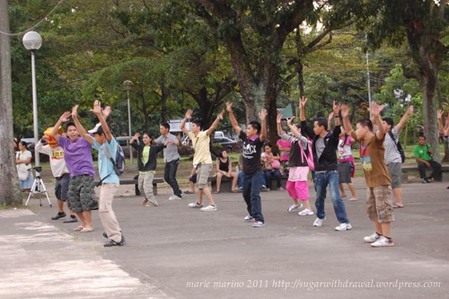 Lagoon Run for Unity Flash Mob