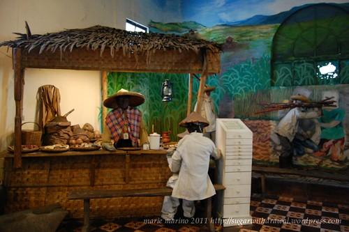 Negros Museum food vendor