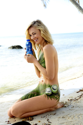 Yvonne Strahovski & SoBe Lifewater with Coconut Water