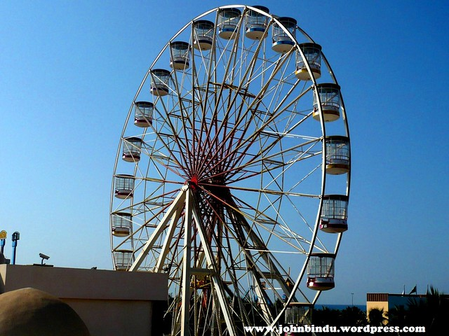 Giant wheel - full view