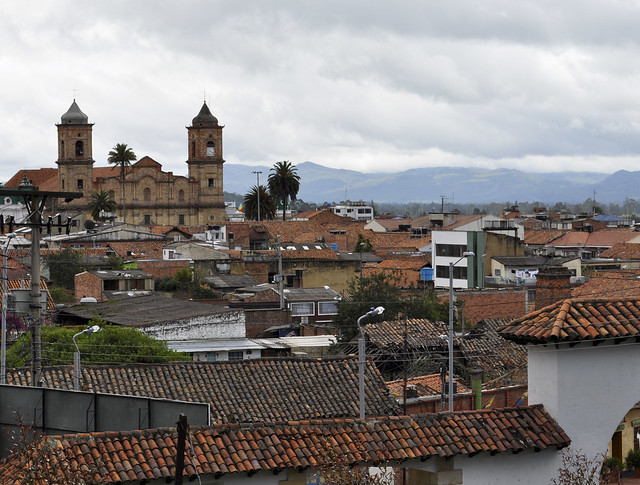 Zipaquira panorama