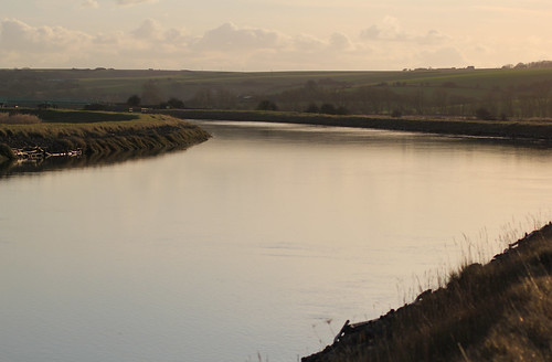 River Ouse, near Rodmell Sussex by Rob Thom