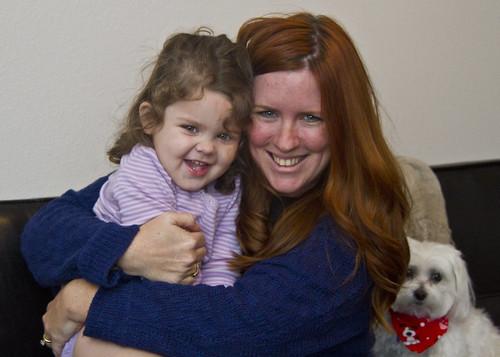 Annie and Mama