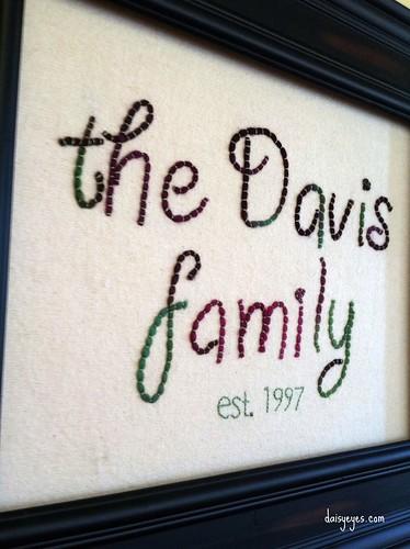 family plaque (stitchalong 1-12)