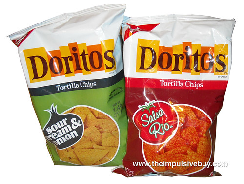 Limited Edition Doritos (Sour Cream and Onion & Salsa Rio)