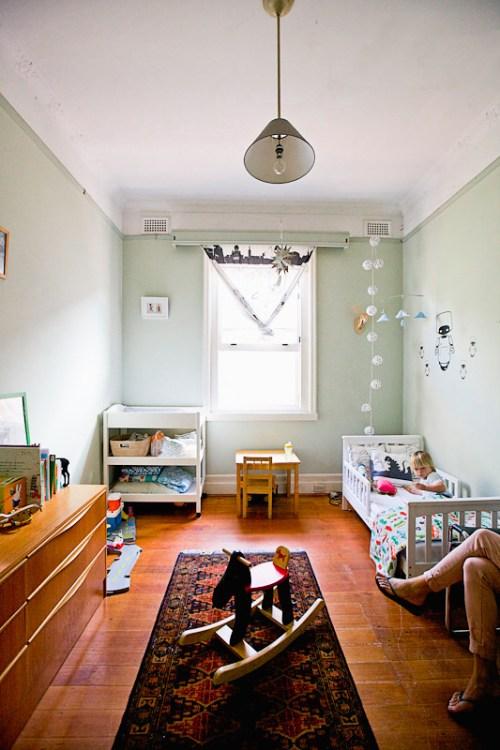 Charming Mint Green Boy's Room