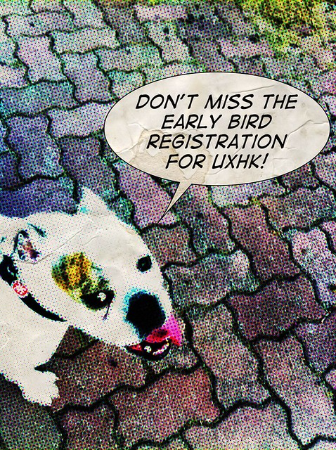 dont miss the early bird registration for @uxhk by dszuc