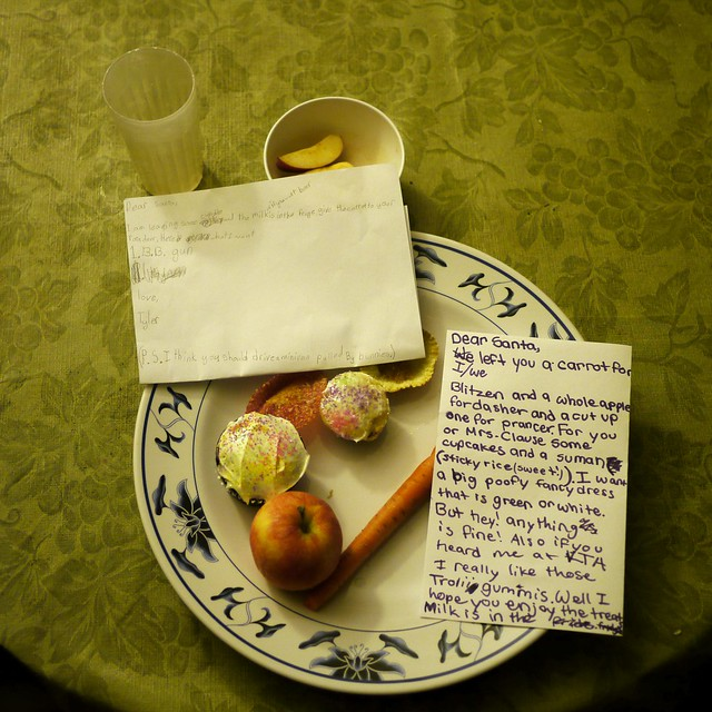 Christmas Notes to Santa, 2011
