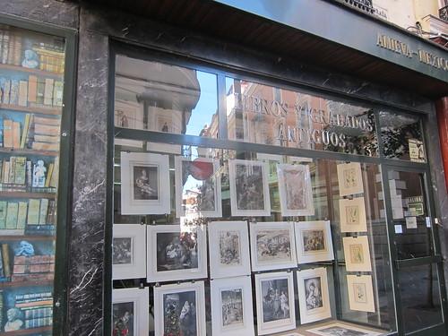Librería. Barrio de Las Letras
