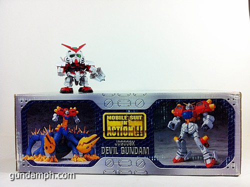 MSIA Devil Gundam First Form Unboxing Review Huge (7)