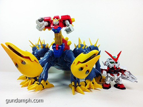 MSIA Devil Gundam First Form Unboxing Review Huge (81)