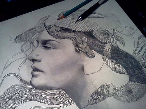 """""""Serpentarium"""" in progress."""