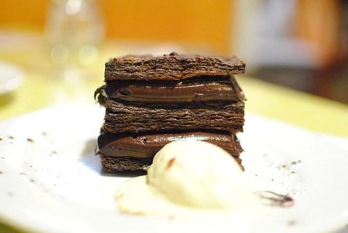 Chocolate Napoleon, Orange Creamsickle