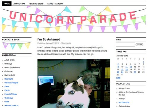New Blog Look for February 2012