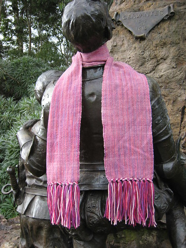 2011_07_26_Pink_plain_weave_scarf