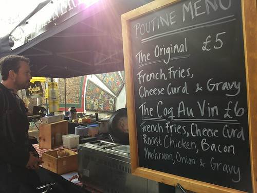 Poutine Menu | Travel | East London Street Food Tour