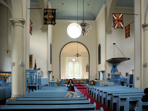 Canongate Kirk, interior looking north