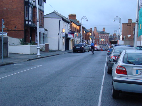 Main Street, Blackrock (one-way section)